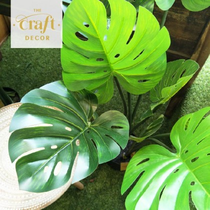 Artificial Monstera Tree With Pot