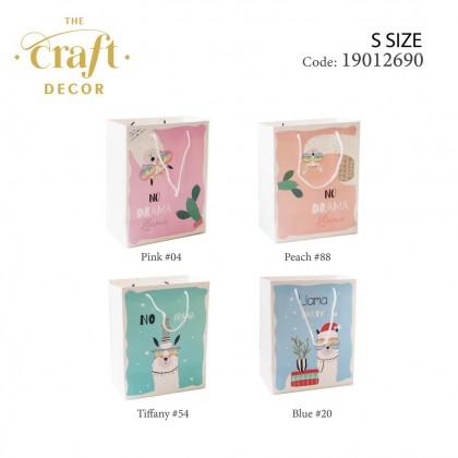 12pcs Llama Design Paper Gift Bag(S)