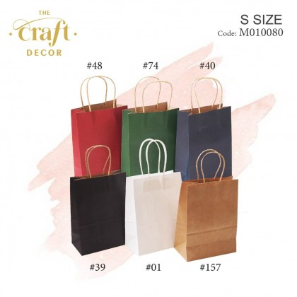 10pcs Paper Bag With Twisted Handle(S)