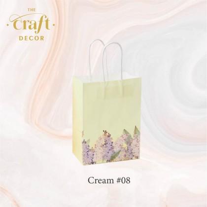 10pcs Flower Printed Paper Gift Bag