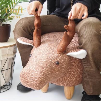 Deer Animal-shaped Stool