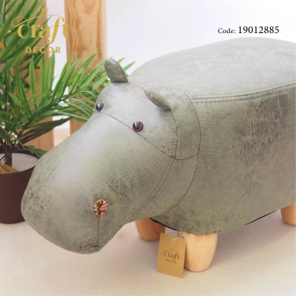 Hippo Animal-shaped Stool
