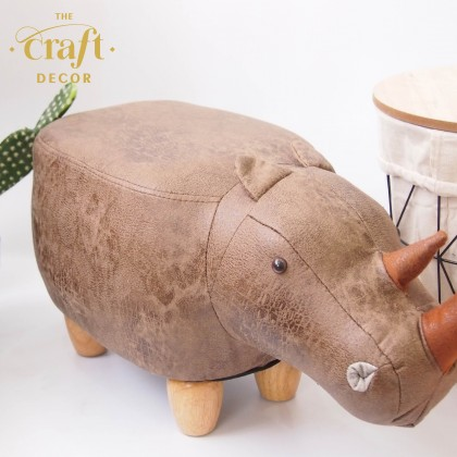 Rhinoceros Animal-shaped Stool