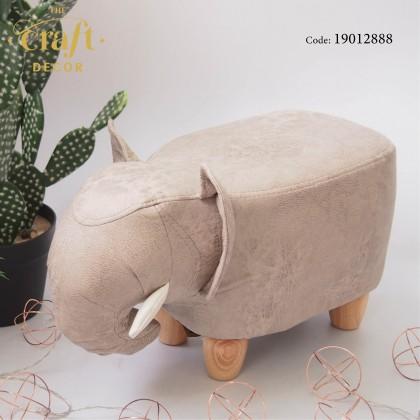 Elephant Animal-shaped Stool