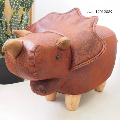 Triceratops Animal-shaped Stool