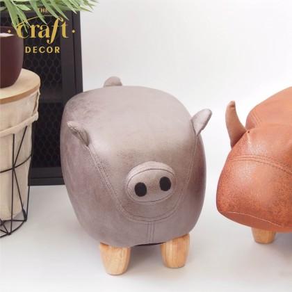 Pig Animal-shaped Stool