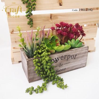 Artificial Succulent Potted Plant