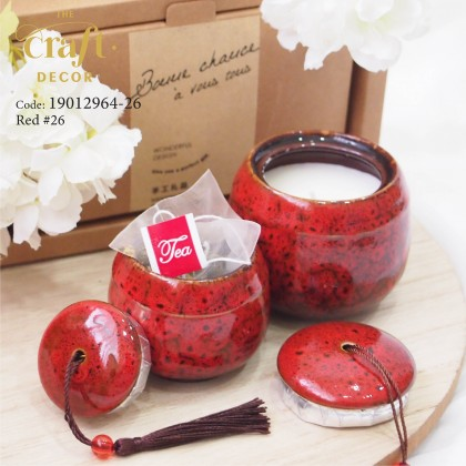 2-In-1 Vintage Marble Candle Gift Set