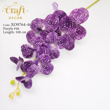 9 Heads Latex Vanda Orchid