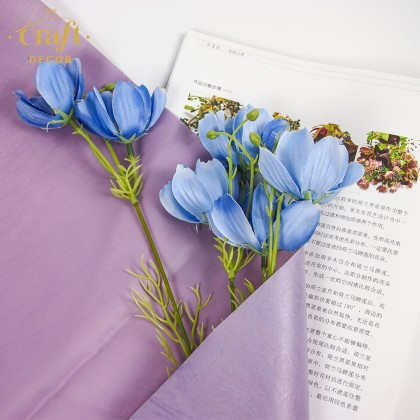 20Sheets Grained Flower Wrapping Paper
