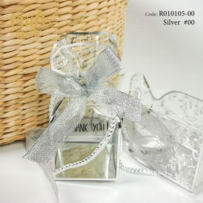 10pcs Classic PVC Gift Box With Ribbon