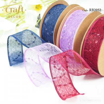 10Yards Sequins Ribbon