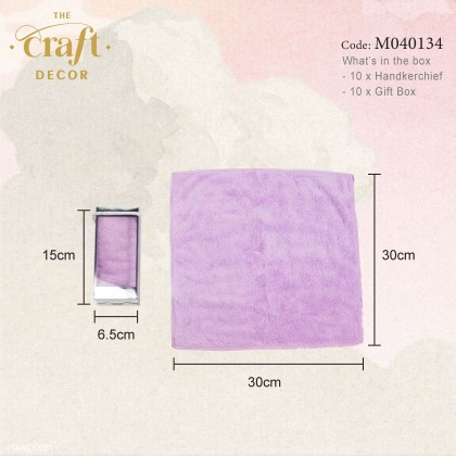 10pcs Handkerchief Door Gift