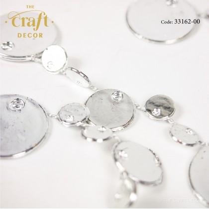 175cm Silver Round Bead Chain