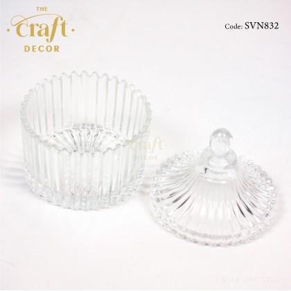 Glass Sugar Bowl Souvenir Door Gift